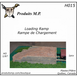 H015 Earth Loading ramp