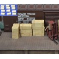 H040 wood crates 12pcs