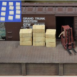 H041 wood crates 12pcs
