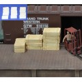 H042 wood crates 12pcs