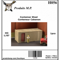 H056  Container Shed  1 pcs
