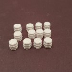 H075 Wood Barrels 12pcs