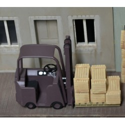 O009 wood crates 12pcs