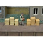 O011 wood crates 12pcs