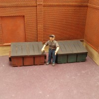 O026 Small Dumpster 2pcs