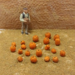 O034 Pumpkins 20 pcs O Scale
