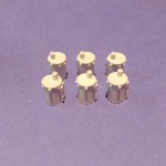 O040 Electric Pole Transformer 6 pcs O Scale