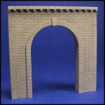 H001 Cut stone tunnel portal